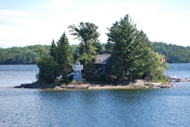 Parry_Sound island cottage