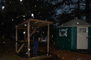 Algonquin Toronto yurt