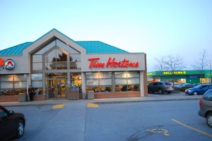 Tim Hortons Scarborough Toronto cycle